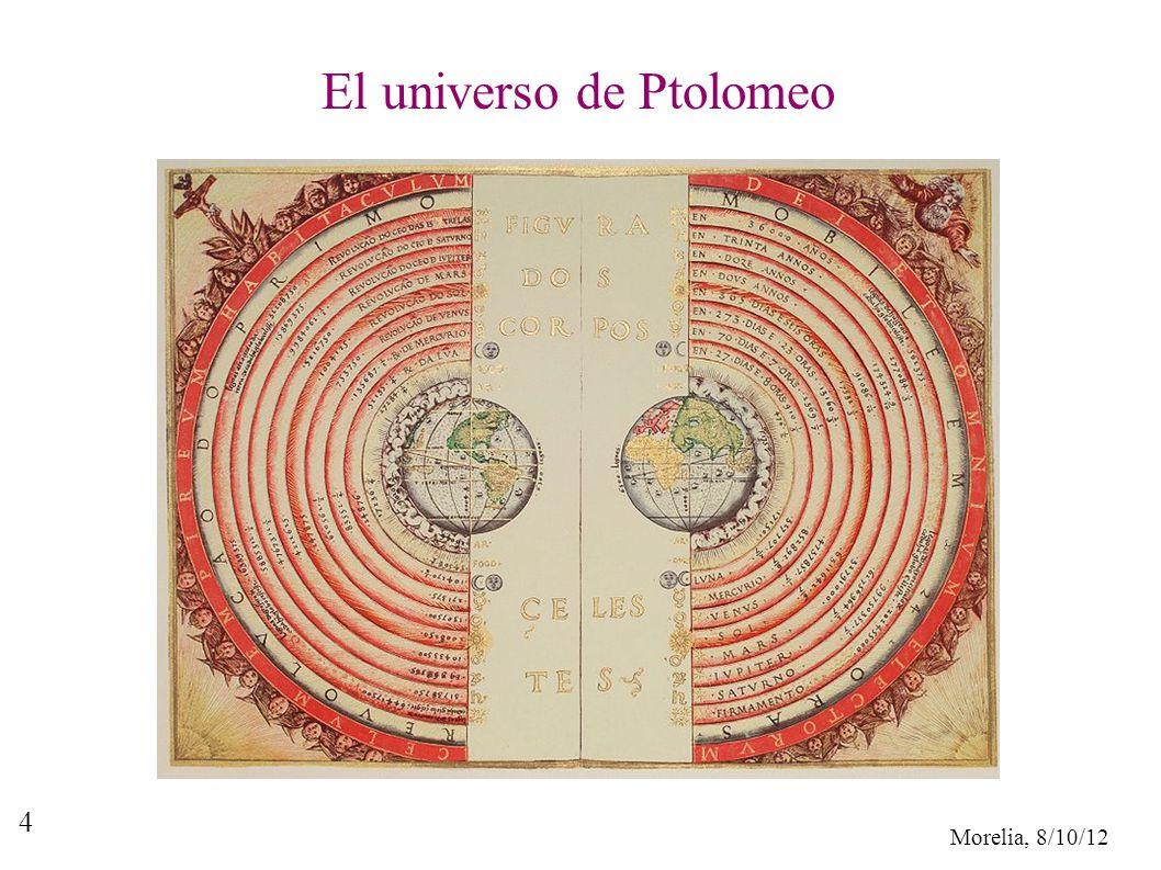 El universo de Ptolomeo