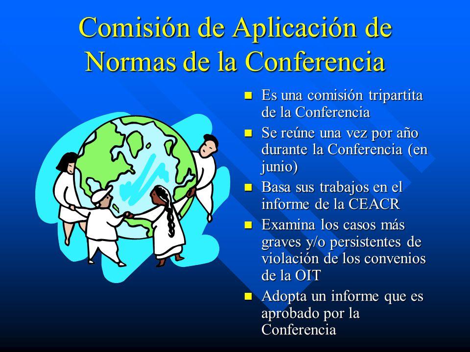 Comisión de Aplicación de Normas de la Conferencia