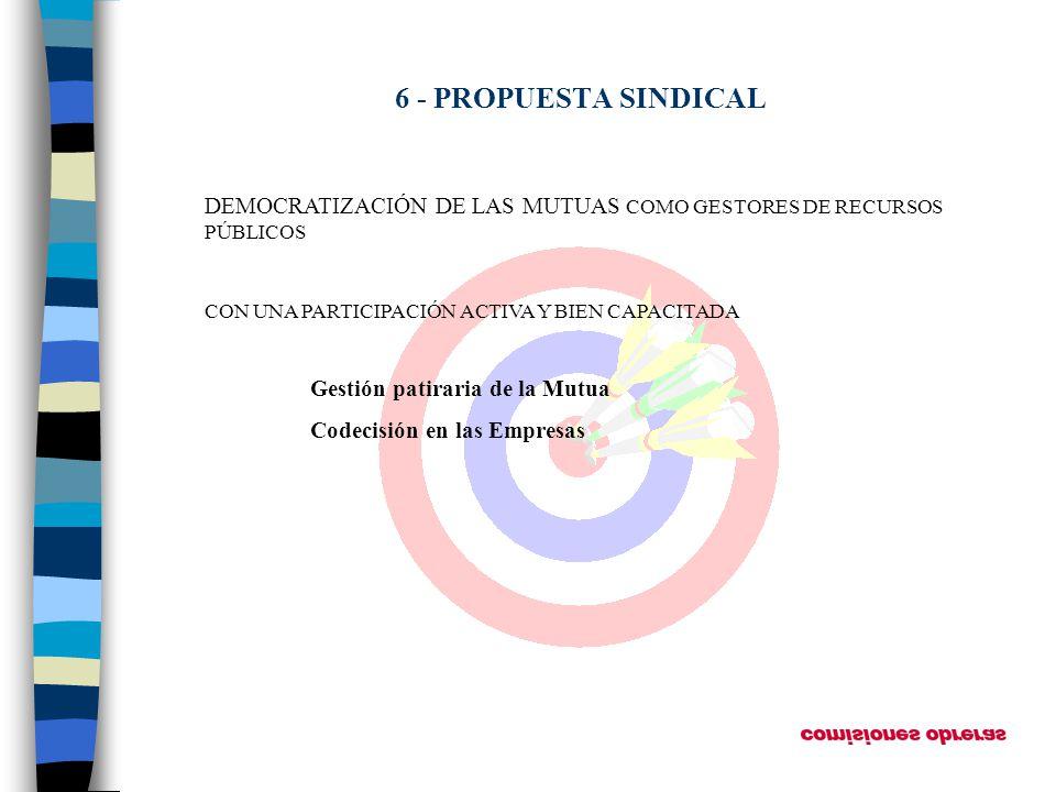 DEMOCRATIZACIÓN DE LAS MUTUAS COMO GESTORES DE RECURSOS PÚBLICOS