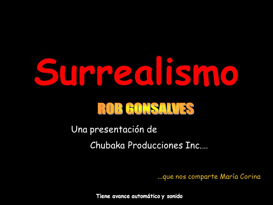 Chubaka Producciones Inc.…