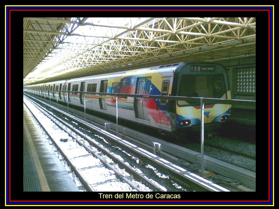 Tren del Metro de Caracas