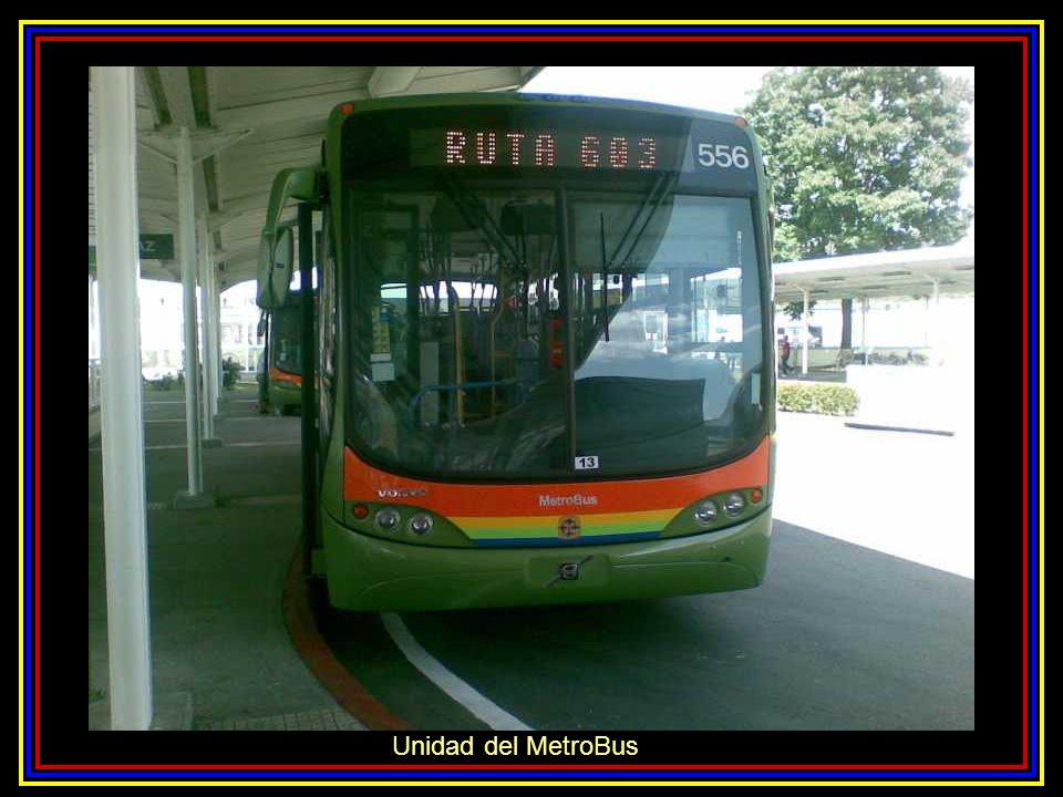 Unidad del MetroBus