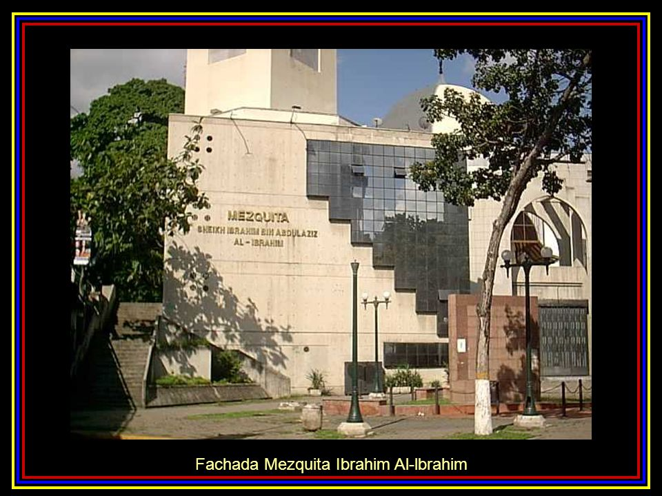 Fachada Mezquita Ibrahim Al-lbrahim