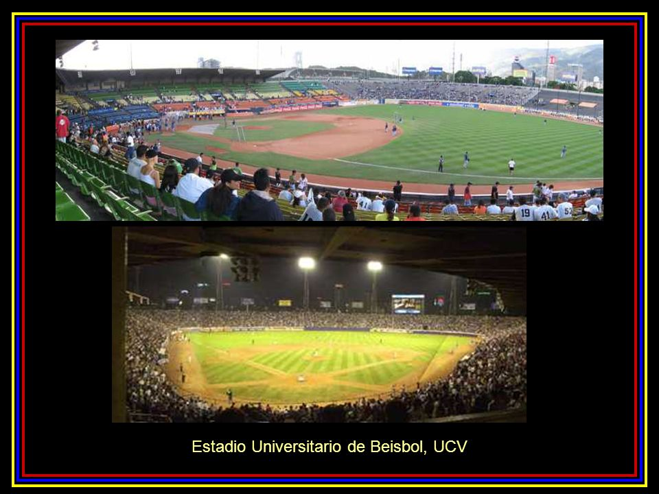 Estadio Universitario de Beisbol, UCV