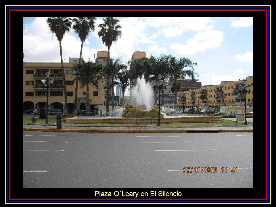 Plaza O´Leary en El Silencio