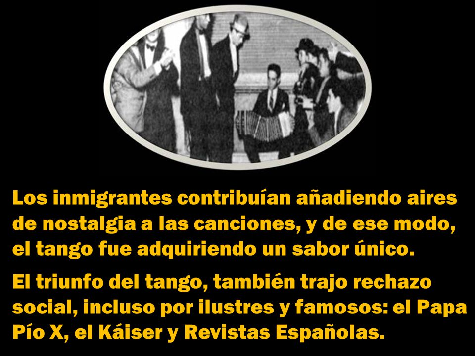 Los inmigrantes contribuían añadiendo aires