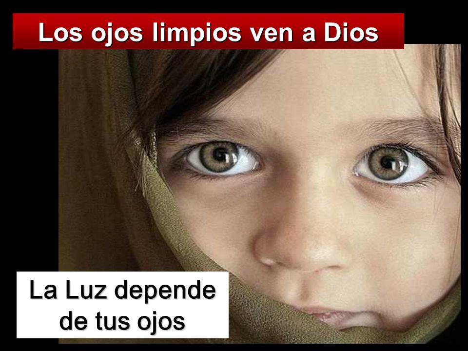 Los ojos limpios ven a Dios La Luz depende de tus ojos