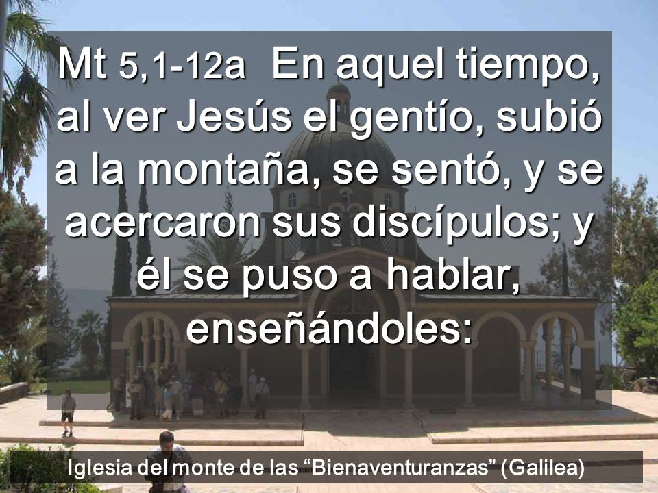 Iglesia del monte de las Bienaventuranzas (Galilea)