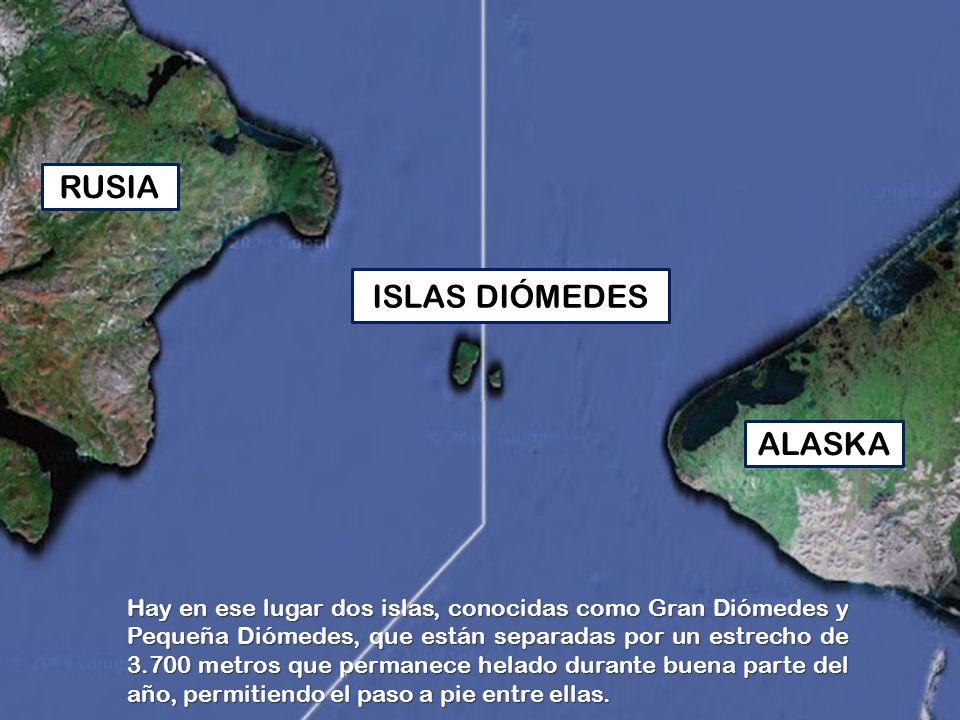 RUSIA ISLAS DIÓMEDES ALASKA