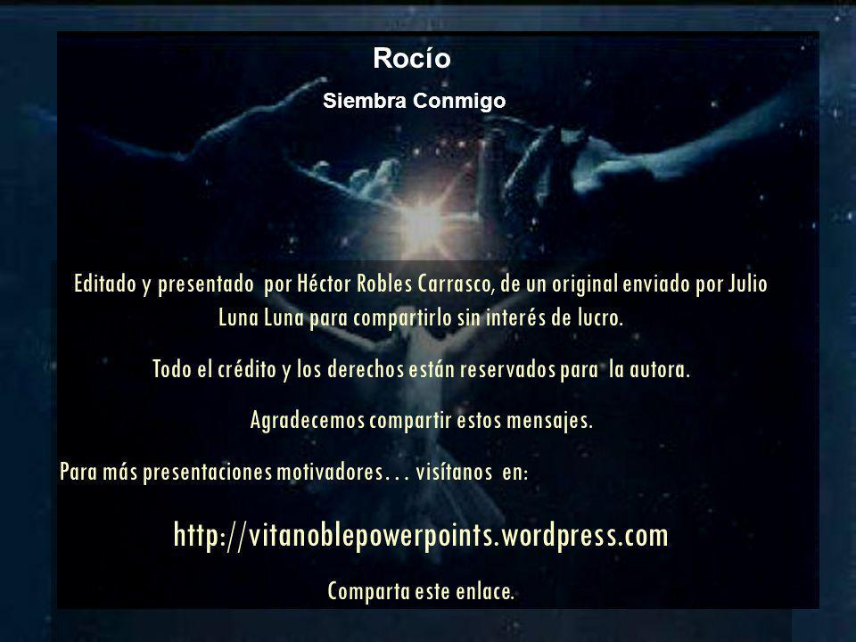 http://vitanoblepowerpoints.wordpress.com Rocío