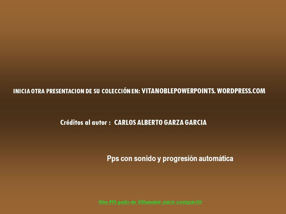 Pps con sonido y progresión automática