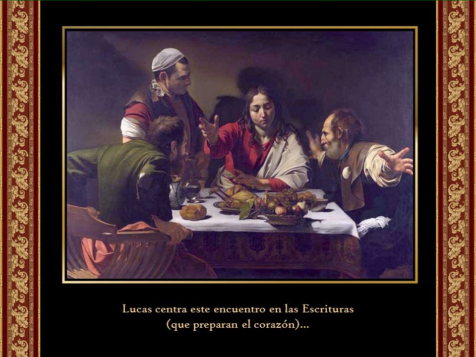 Lucas centra este encuentro en las Escrituras