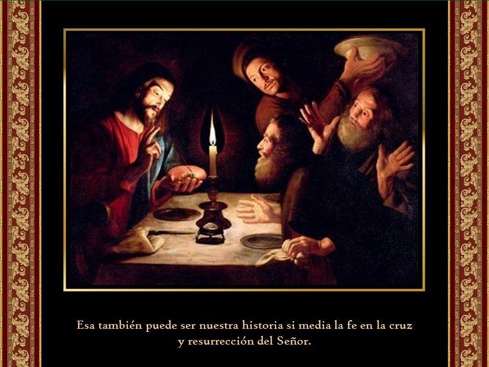 Esa también puede ser nuestra historia si media la fe en la cruz
