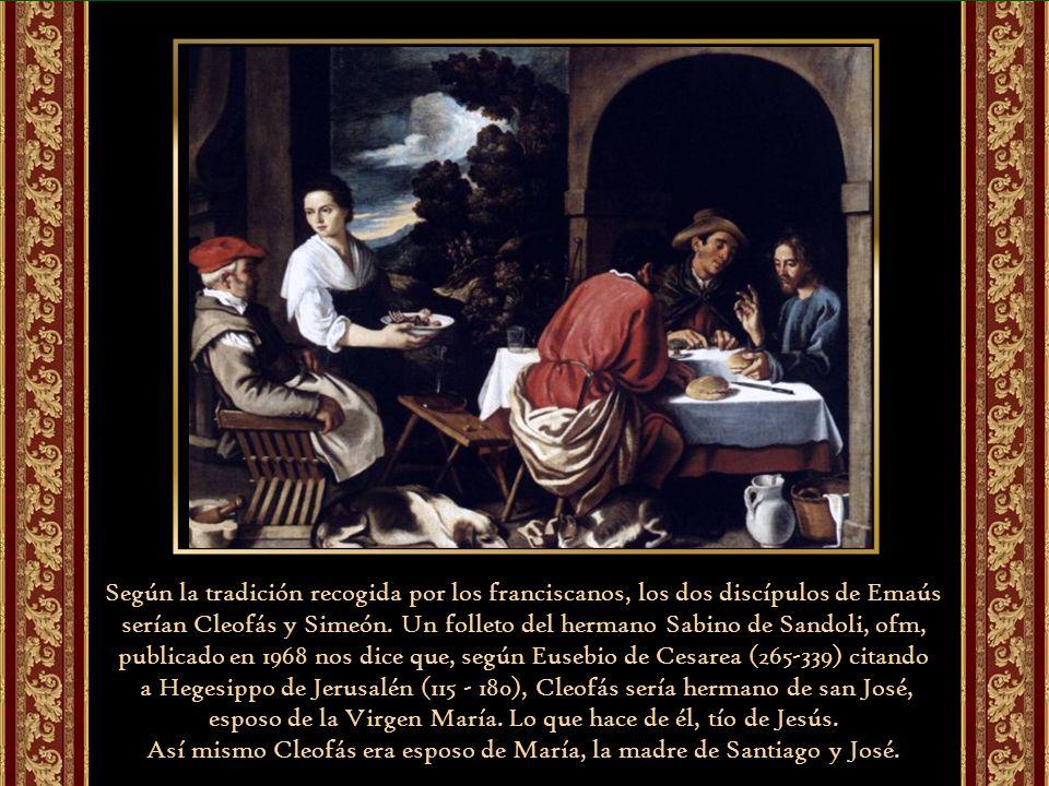 Así mismo Cleofás era esposo de María, la madre de Santiago y José.