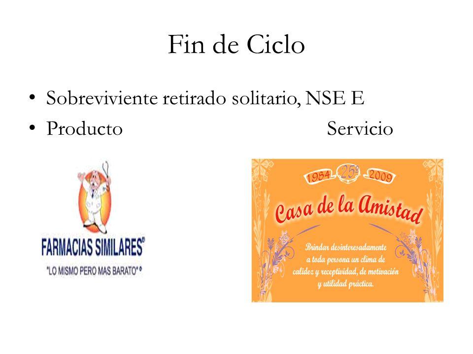 Fin de CicloSobreviviente retirado solitario, NSE E.