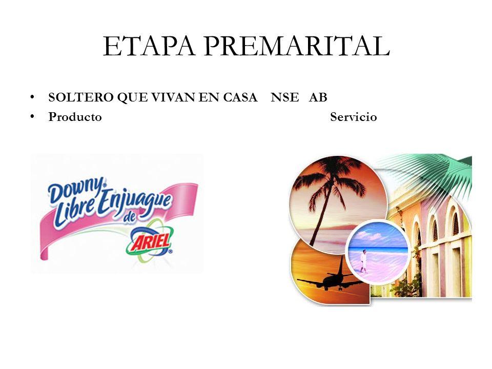 ETAPA PREMARITAL SOLTERO QUE VIVAN EN CASA NSE AB.