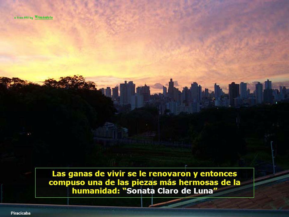 a Free PPS by Vitanoble Las ganas de vivir se le renovaron y entonces compuso una de las piezas más hermosas de la humanidad: Sonata Claro de Luna