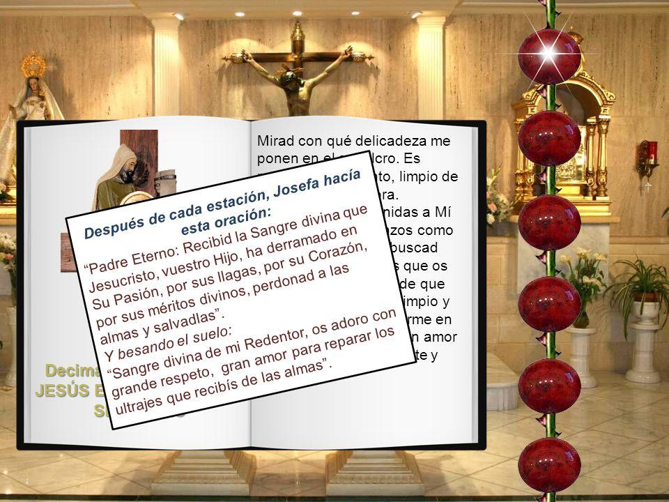Decimacuarta Estación: JESÚS ES PUESTO EN EL SEPULCRO