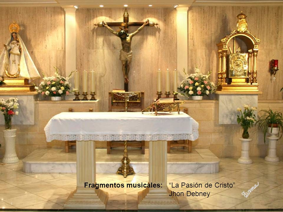 Fragmentos musicales: La Pasión de Cristo