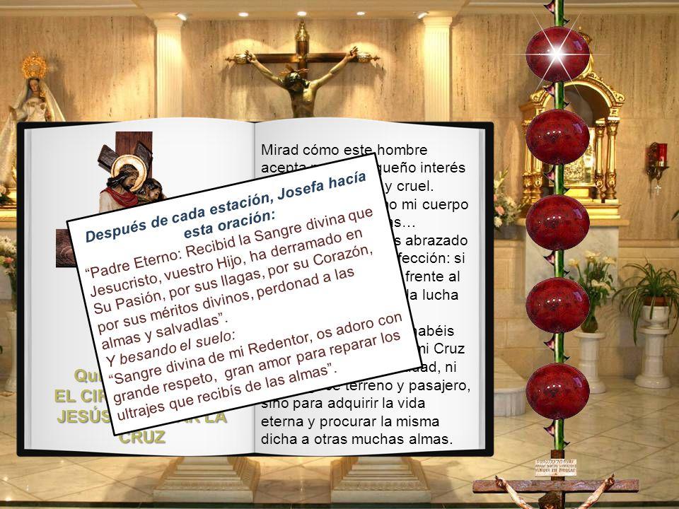 Quinta Estación: EL CIRINEO AYUDA A JESÚS A LLEVAR LA CRUZ