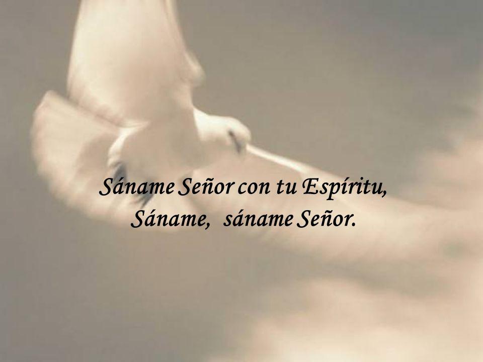 Sáname Señor con tu Espíritu,