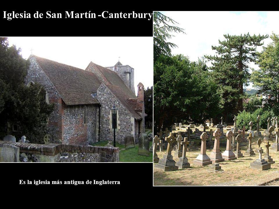Iglesia de San Martín -Canterbury