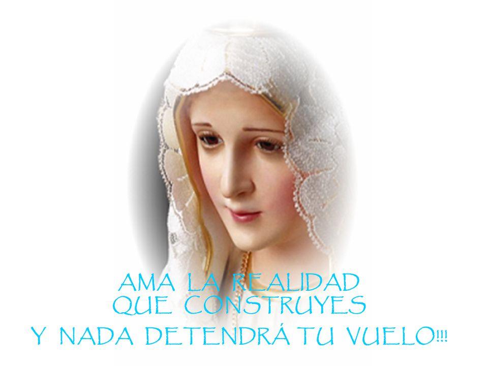 AMA LA REALIDAD QUE CONSTRUYES Y NADA DETENDRÁ TU VUELO!!!