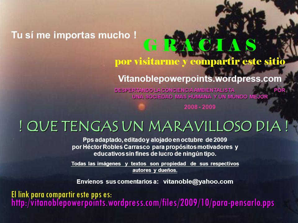 Envíenos sus comentarios a: vitanoble@yahoo.com
