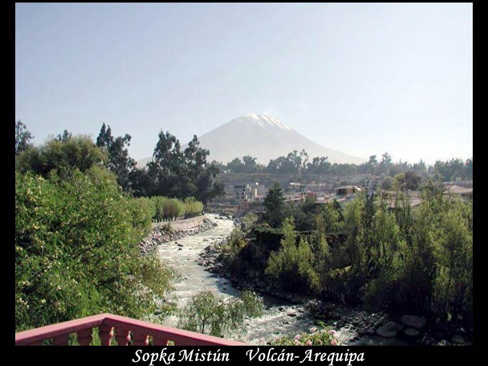 Sopka Mistún Volcán- Arequipa