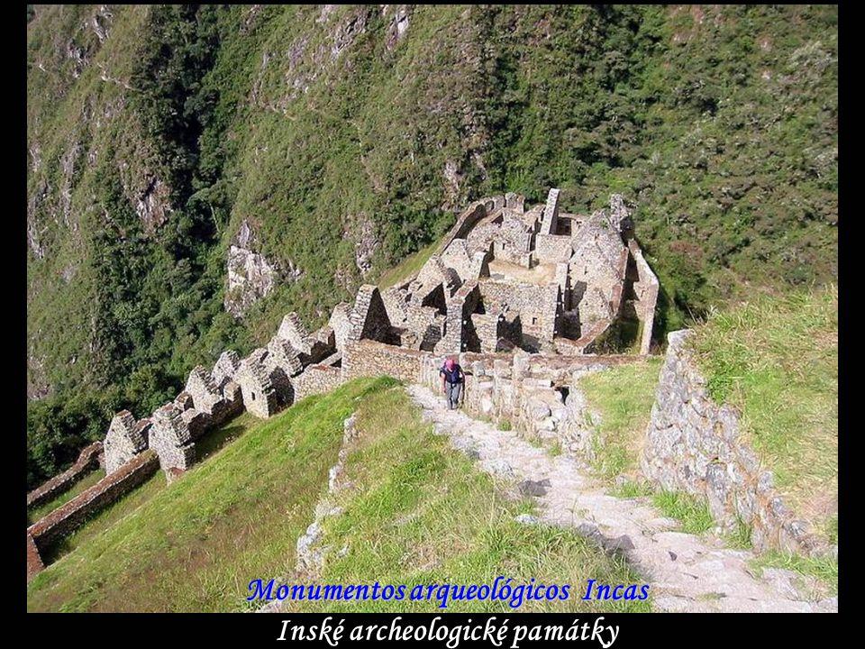 Monumentos arqueológicos Incas Inské archeologické památky