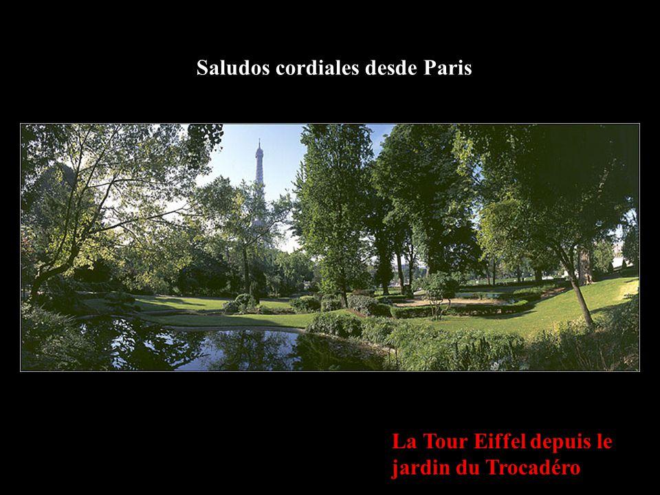 Saludos cordiales desde Paris