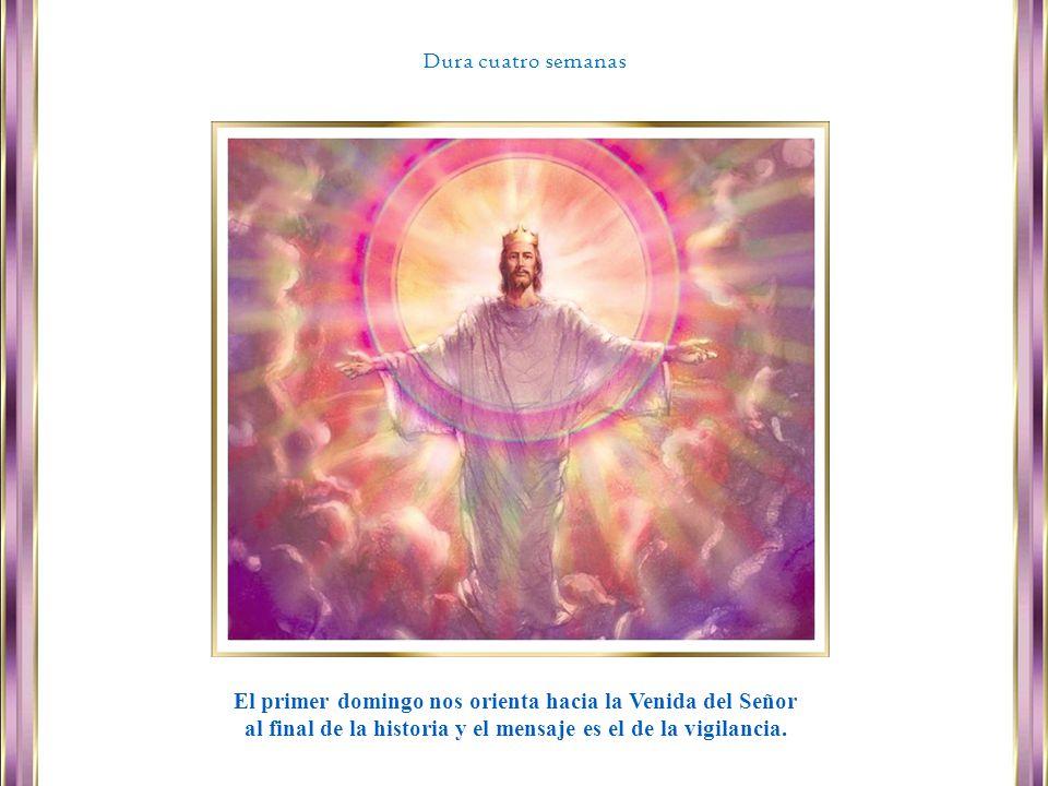 El primer domingo nos orienta hacia la Venida del Señor