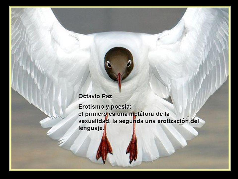 Octavio Paz Erotismo y poesía: