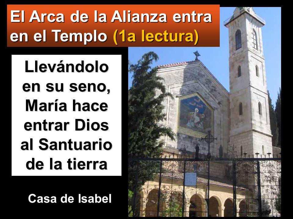 El Arca de la Alianza entra en el Templo (1a lectura)