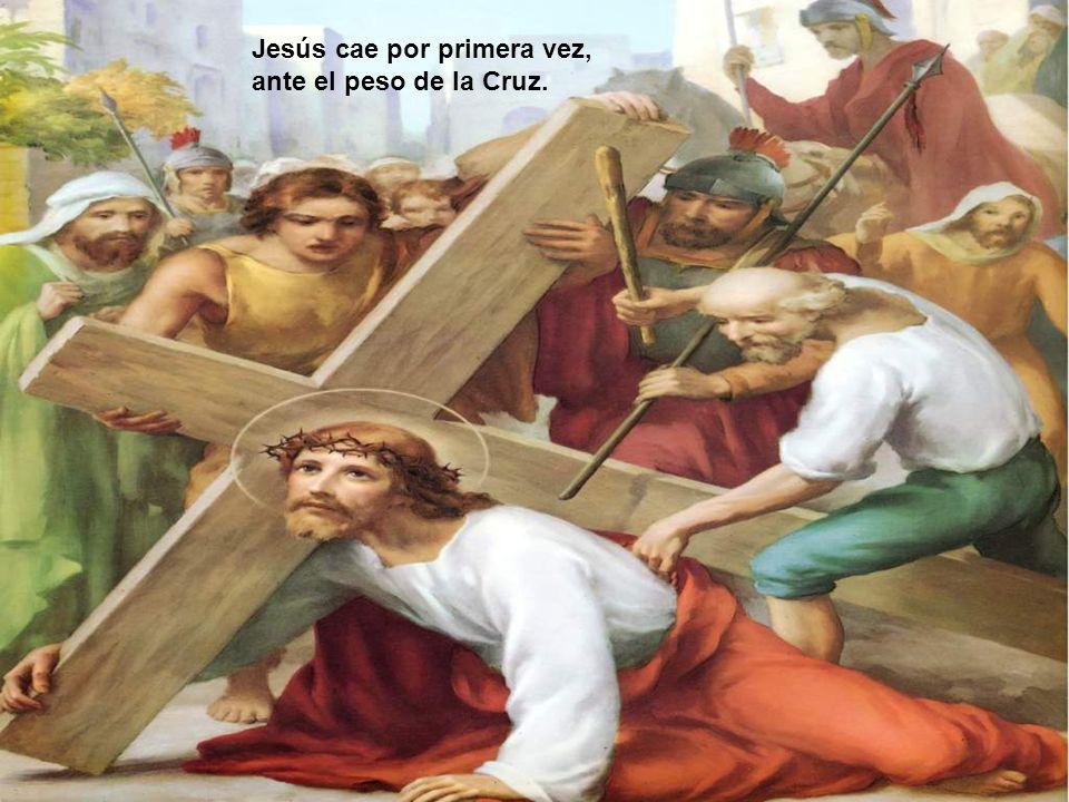 Jesús cae por primera vez,