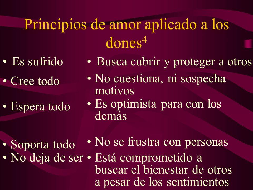 Principios de amor aplicado a los dones4
