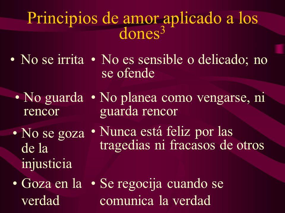 Principios de amor aplicado a los dones3