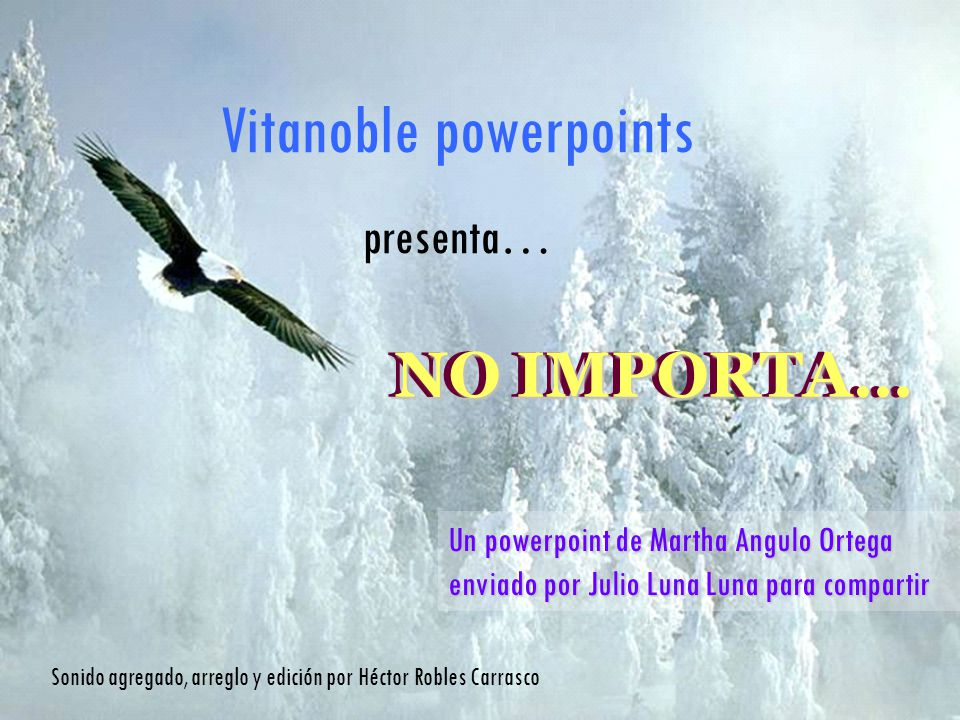 Vitanoble powerpoints