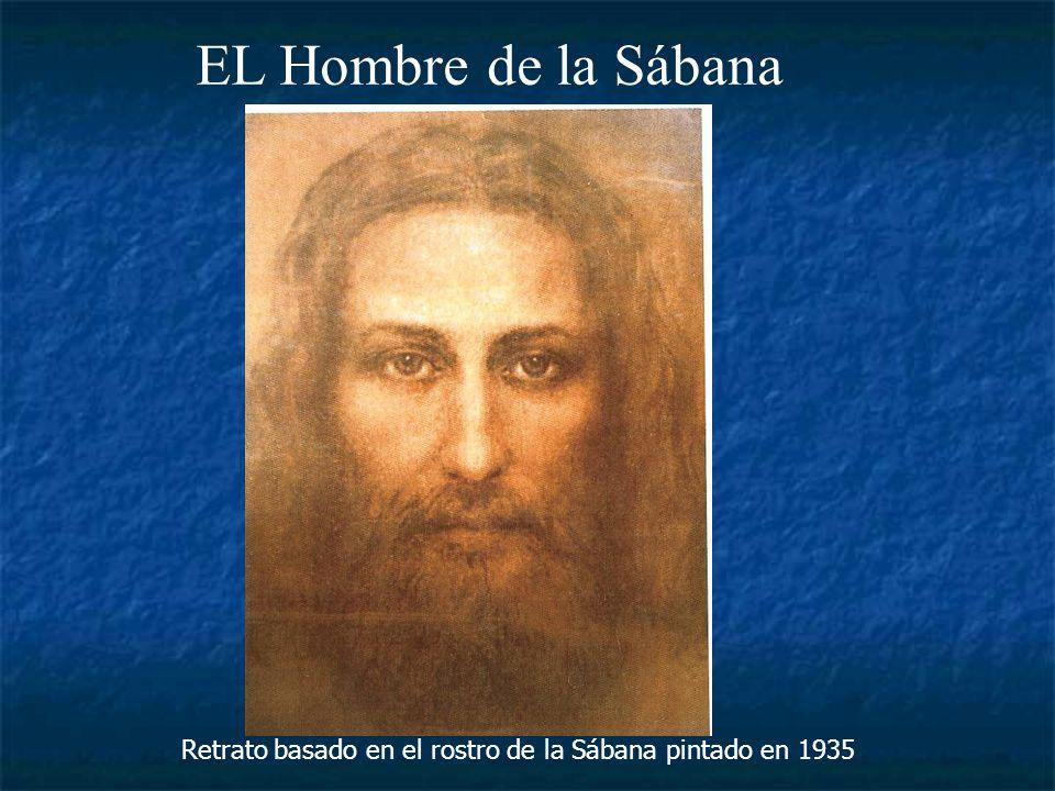Retrato basado en el rostro de la Sábana pintado en 1935