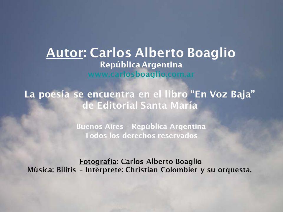 Autor: Carlos Alberto Boaglio
