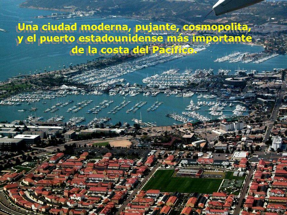 Una ciudad moderna, pujante, cosmopolita,