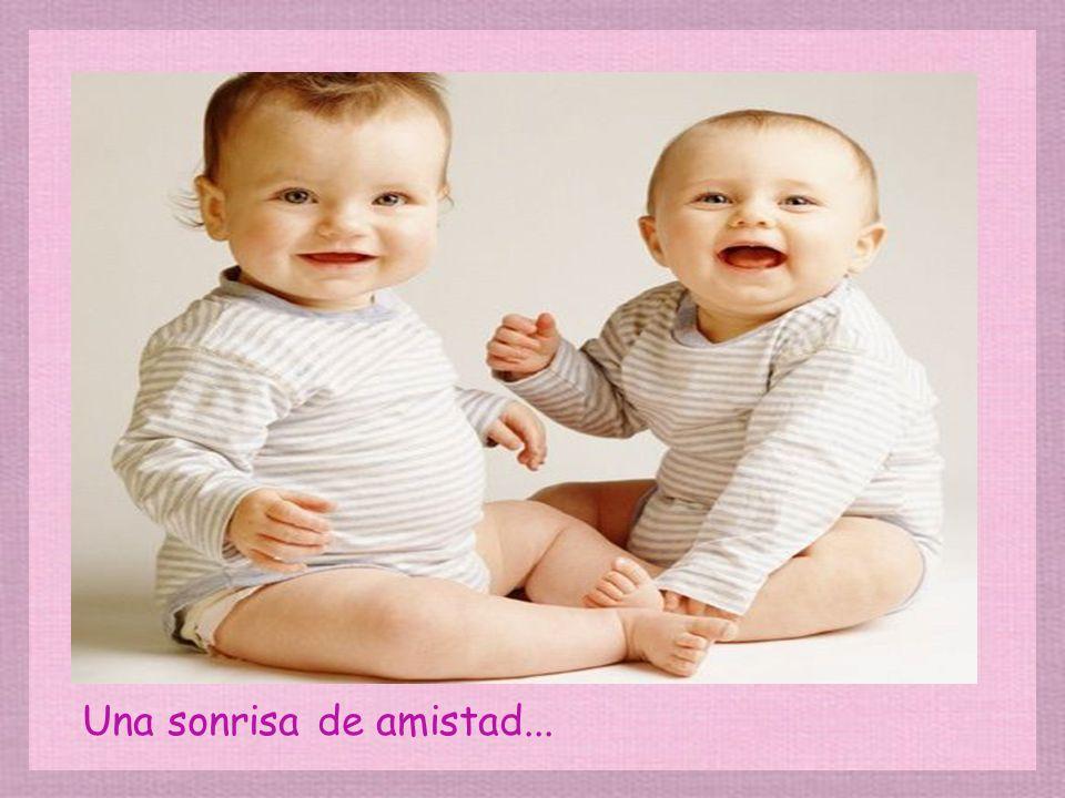 Una sonrisa de amistad...