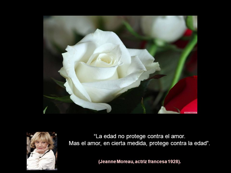 (Jeanne Moreau, actriz francesa 1928).