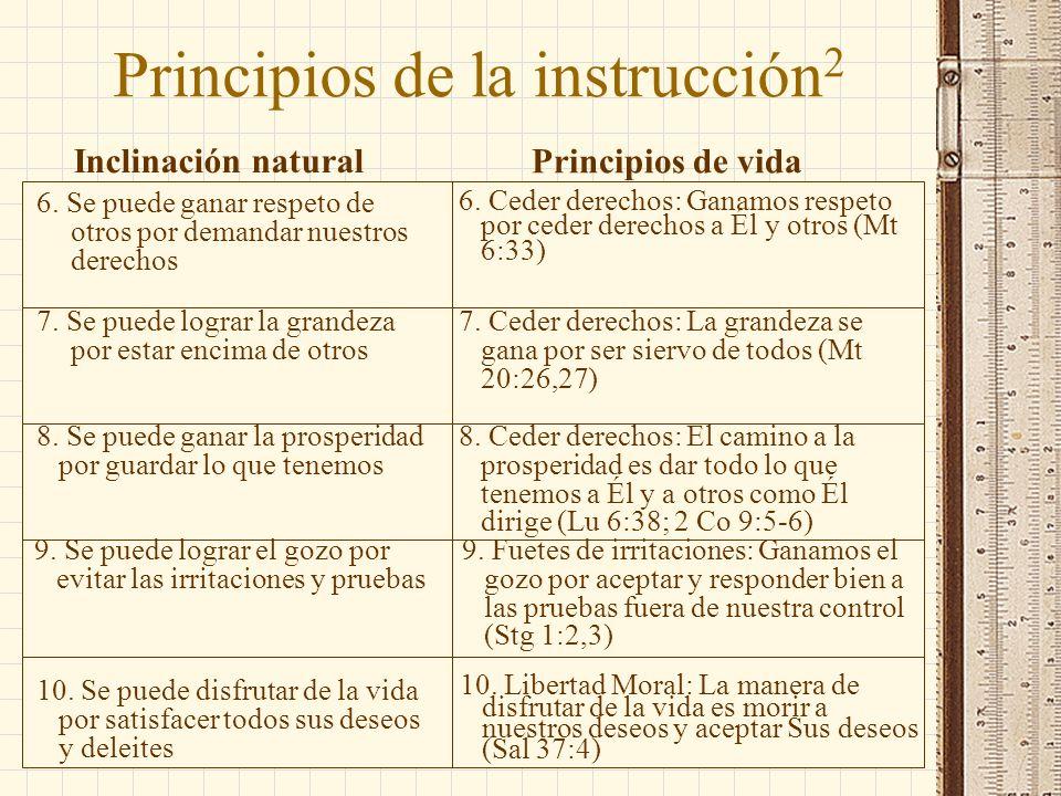 Principios de la instrucción2
