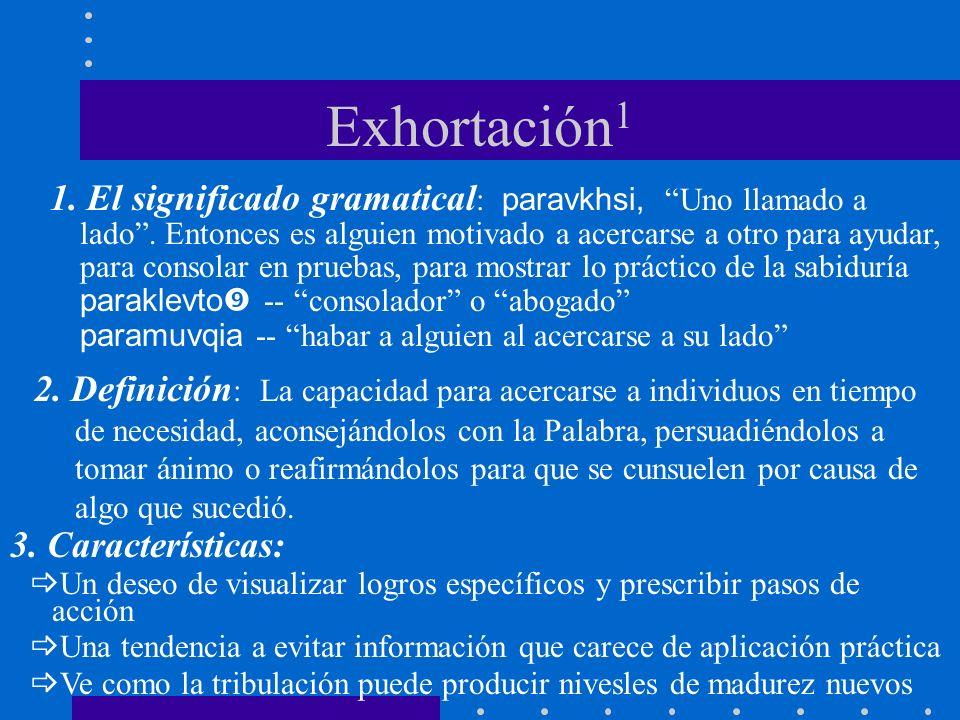 Exhortación1