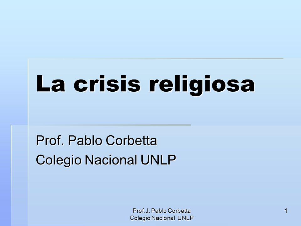 Prof. Pablo Corbetta Colegio Nacional UNLP