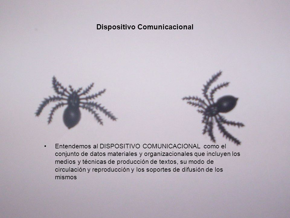 Dispositivo Comunicacional