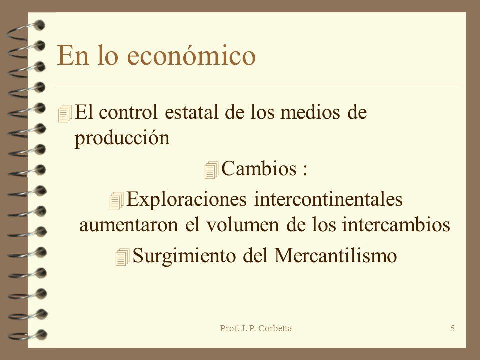 Surgimiento del Mercantilismo