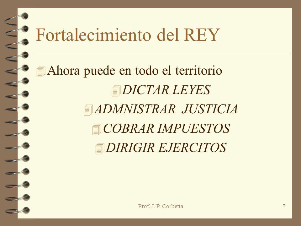Fortalecimiento del REY