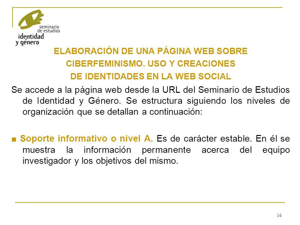ELABORACIÓN DE UNA PÁGINA WEB SOBRE